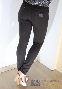 Узкие трикотажные брюки  YTQ