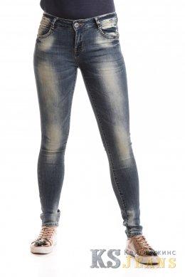 Светлые узкие джинсы VICTORY