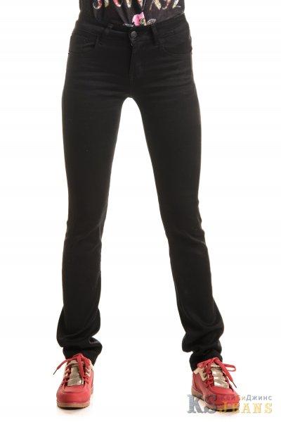 Черные джинсы прямые VIP
